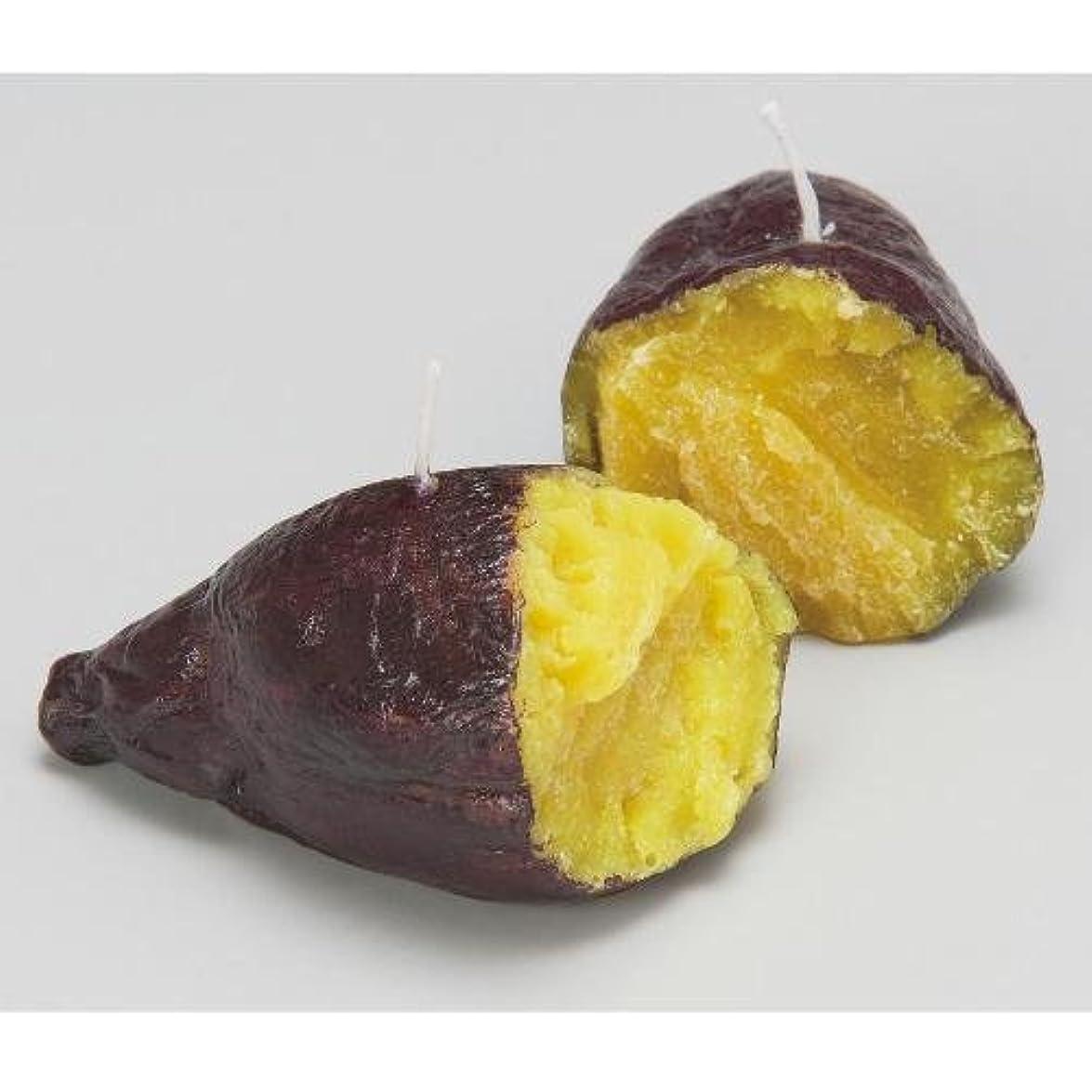 転用コインランドリー作り上げる焼き芋キャンドル