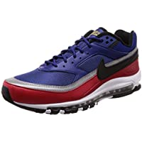 d5aa0f1dcac72 Nike Men s Air Max 97 BW Deep Royal Blue Black Running Shoe 9 Men