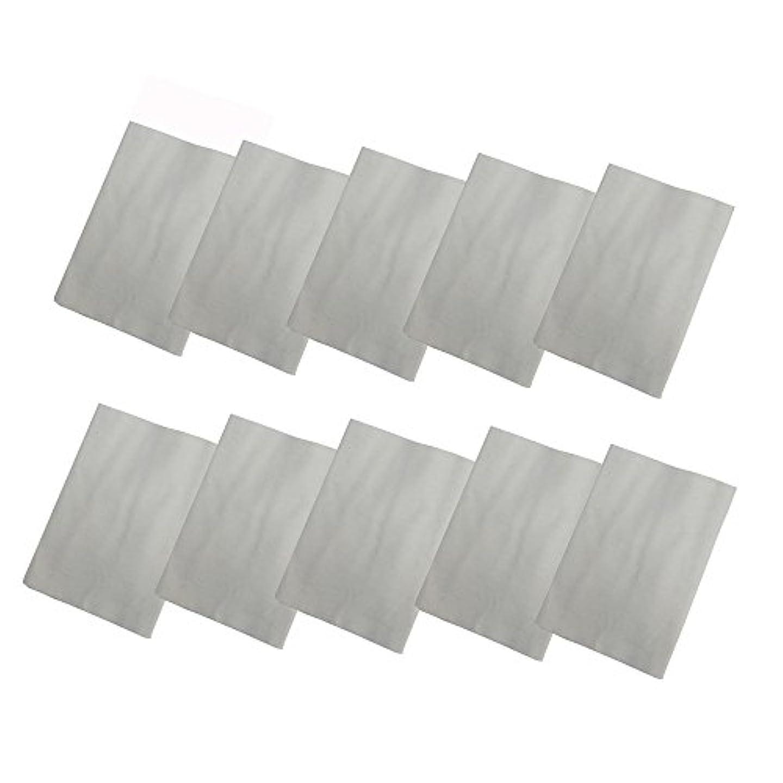 独立してピット熱コットンフランネル10枚組(ヒマシ油用) 無添加 無漂白 平織 両面起毛フランネル生成