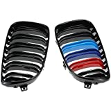 BEESCLOVER Front Grill Glossy M Color Grille for Cars Coupe Face Lift as Picture Show One Size