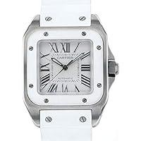 カルティエ Cartier サントス 100MM 2878 中古 腕時計 レディ-ス