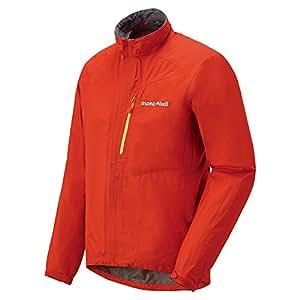 mont-bell(モンベル) サイクル レインジャケット オレンジレッド Sサイズ 1130409