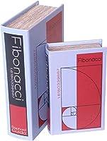 東洋石創 デザイン小物 BOOK BOX 2個セット G 18×7×27.5cm 28509