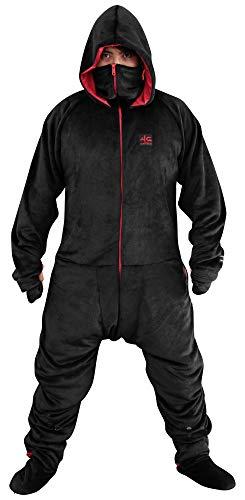 最安|評価は?Bauhutte ゲーミング着る毛布 ダメ着4G ブラック/レッド XLサイズ HFD-XL-4G-19