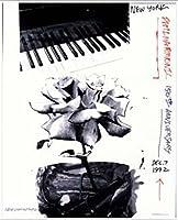 ポスター ロバート ラウシェンバーグ New York Philharmonic 150th Anniversary 1992年 限定2000枚 額装品 アルミ製ベーシックフレーム(ホワイト)
