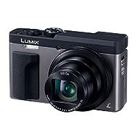 パナソニック コンパクトデジタルカメラ ルミックス TZ90 光学30倍 シルバー DC-TZ90-S