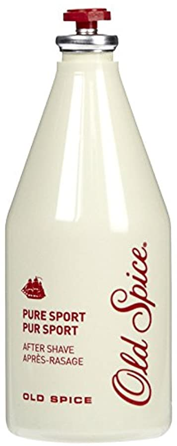 休日に散る施設Old Spice After Shave Lotion, Pure Sport, 6.37 Ounce Bottle