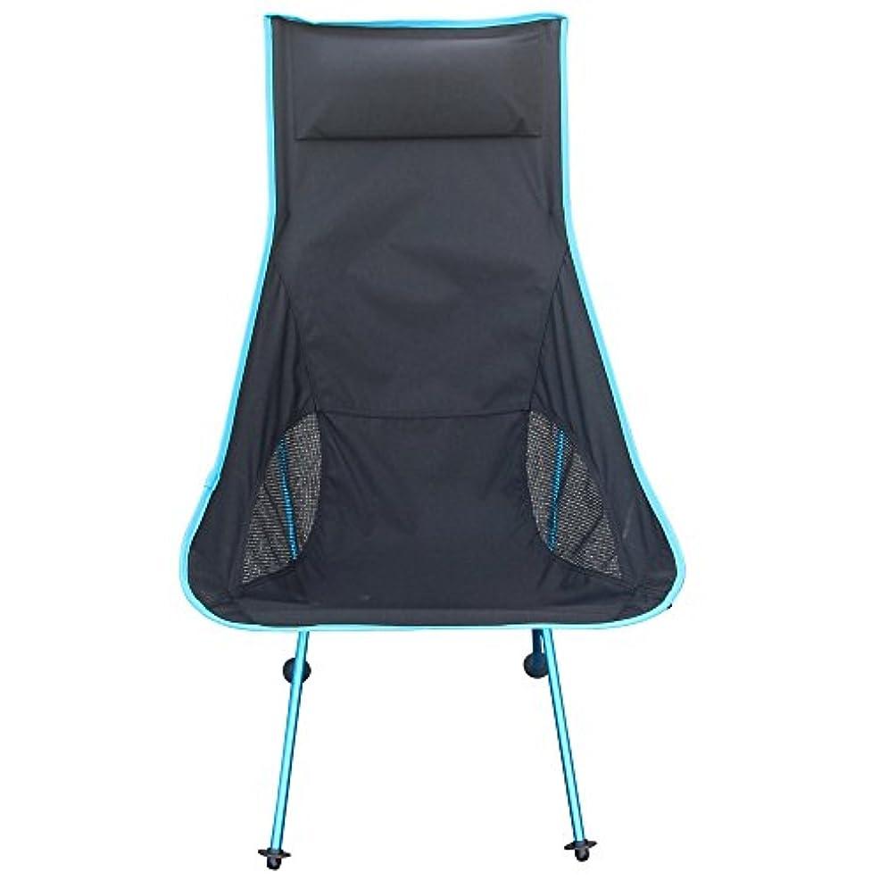 赤外線曖昧なペデスタル[Signstek]折り畳みレジャー イス アウトドアチェアー キャンプ 椅子 いす まくら付