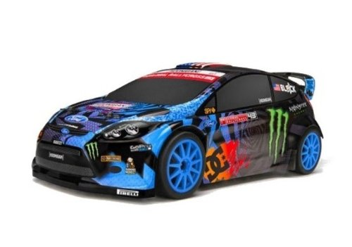 HPI Micro Ken Block RS4 GRC Fiesta 1/18 Drift Car ラジコン (並行輸入)