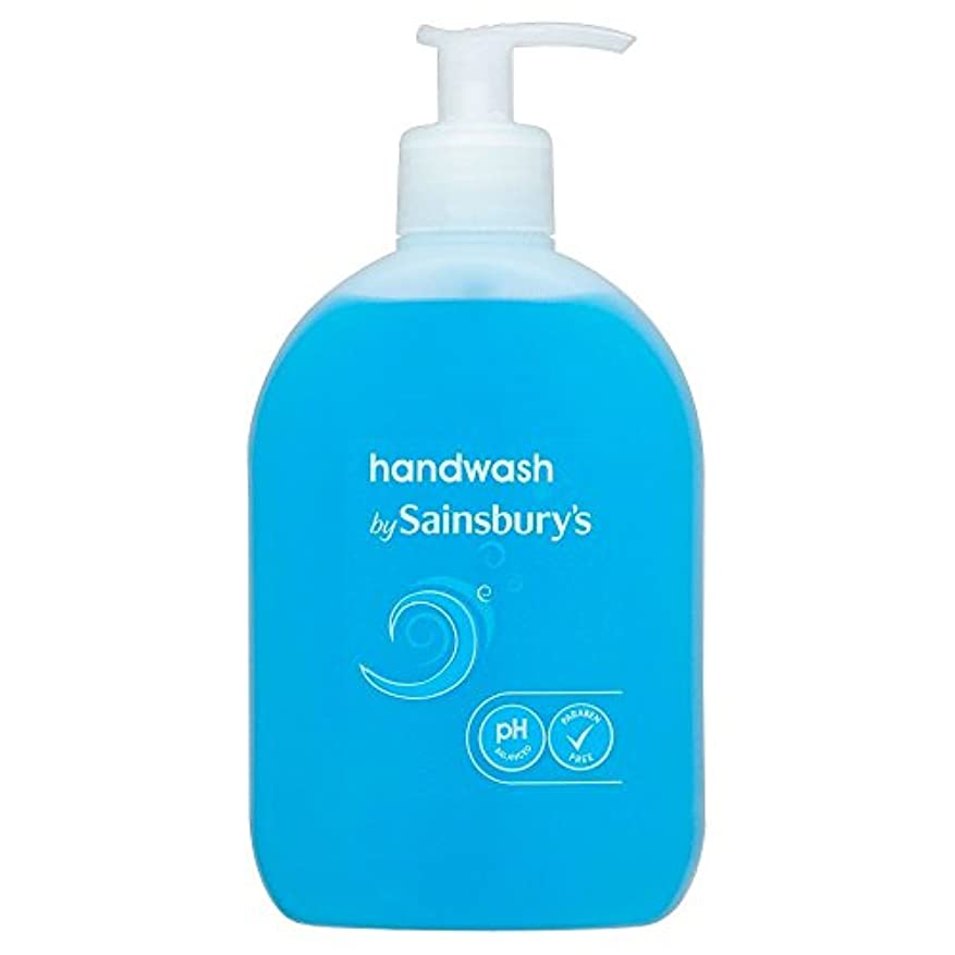 争い斧コストSainsbury's Handwash, Blue 500ml (Pack of 6) - (Sainsbury's) 手洗い、青500ミリリットル (x6) [並行輸入品]