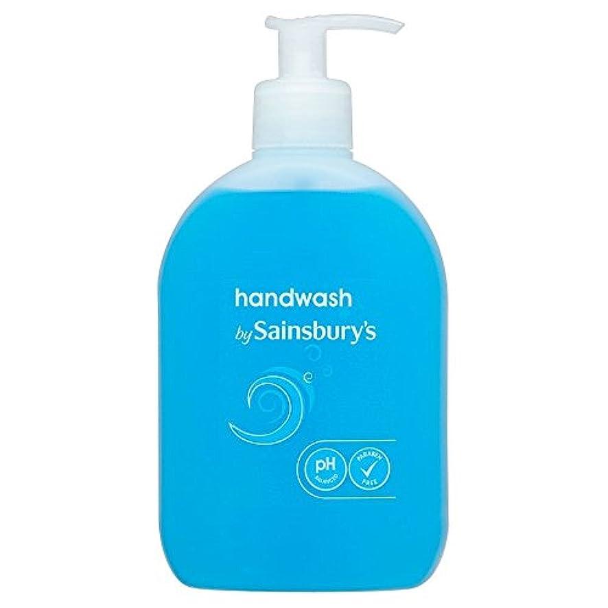 ツインアジャ合意Sainsbury's Handwash, Blue 500ml - (Sainsbury's) 手洗い、青500ミリリットル [並行輸入品]