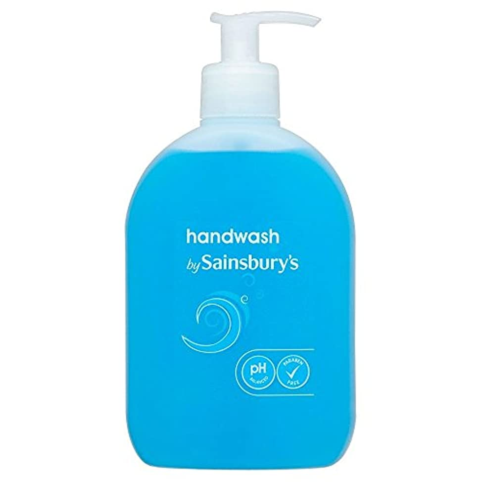 粘土針同種のSainsbury's Handwash, Blue 500ml (Pack of 2) - (Sainsbury's) 手洗い、青500ミリリットル (x2) [並行輸入品]