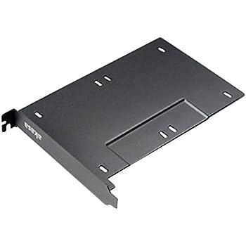 アイネックス リアスロット用 SSD/HDDマウンタ 2台用 AK-HDA-10BK