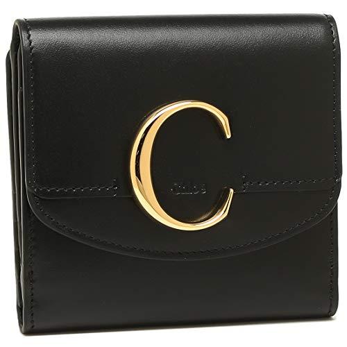[クロエ]折財布 レディース CHLOE CHC19SP056A37 001 ブラック [並行輸入品]