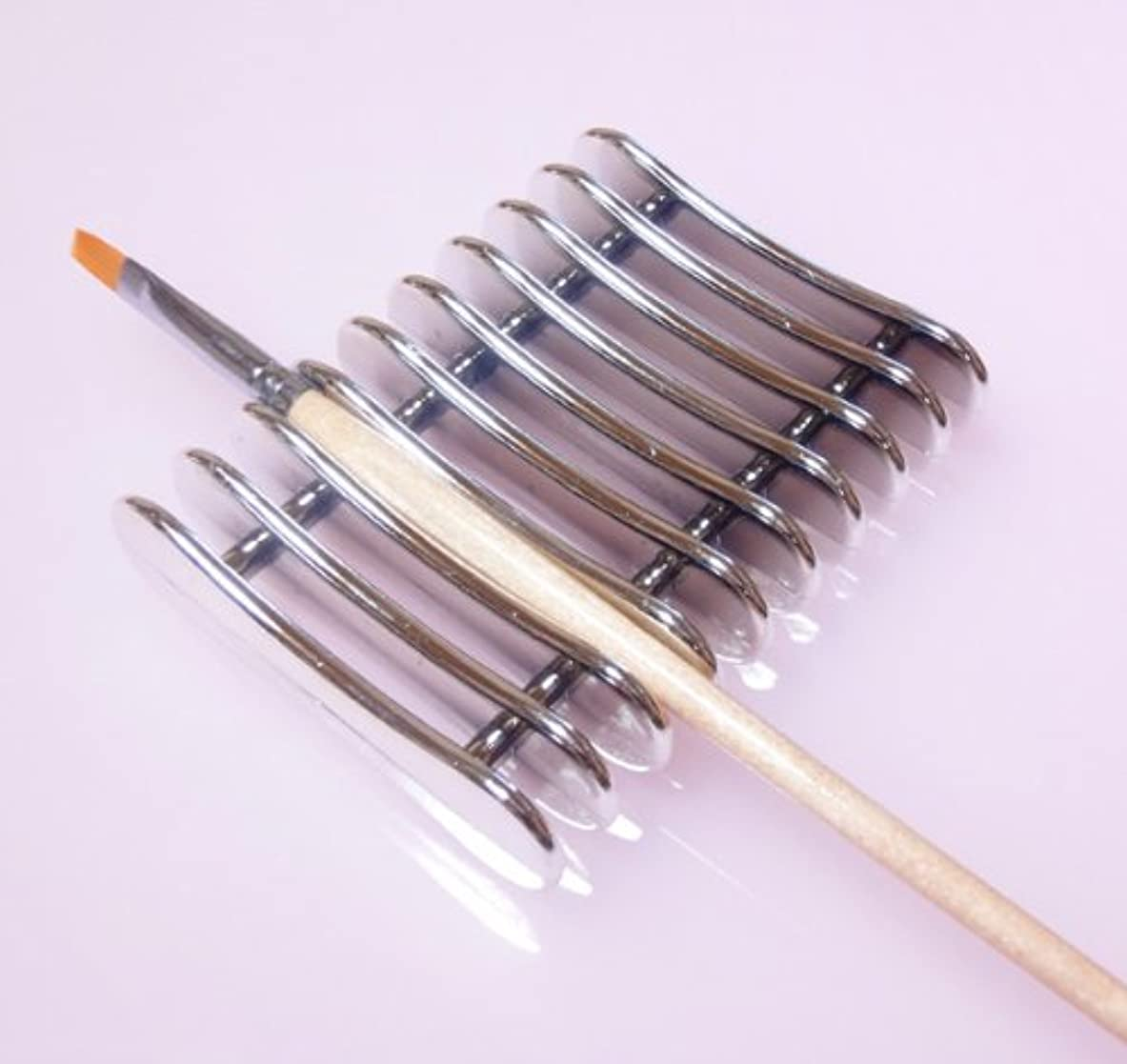 やめる破壊的リーガンネイルブラシホルダー ブラシスタンド ジェルネイル筆置き ネイル用品