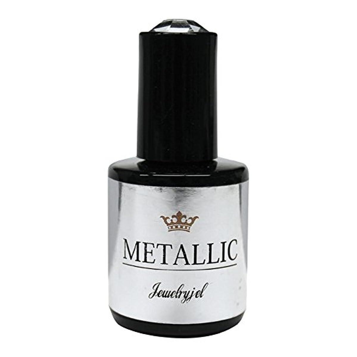 おばあさん塩辛い柔らかいジュエリージェル ジェルネイル  メタリックカラージェル MT027 5ml   UV/LED対応 カラージェル ソークオフジェル
