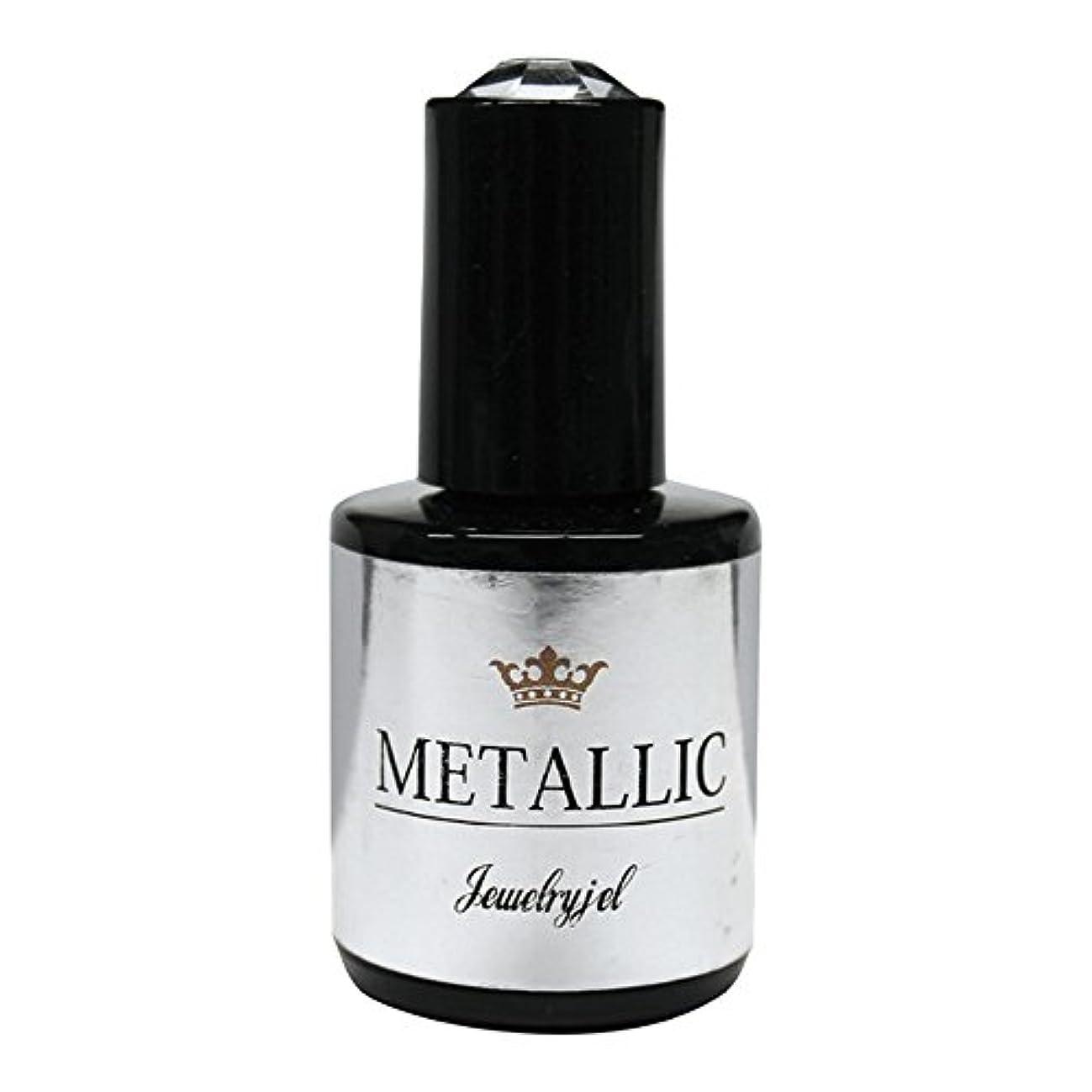野生カスタム自然ジュエリージェル ジェルネイル メタリックカラージェル MT022 5ml   UV/LED対応 カラージェル ソークオフジェル
