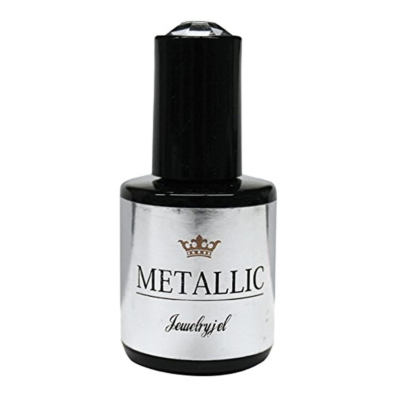 潮銅友情ジュエリージェル ジェルネイル メタリックカラージェル MT022 5ml   UV/LED対応 カラージェル ソークオフジェル