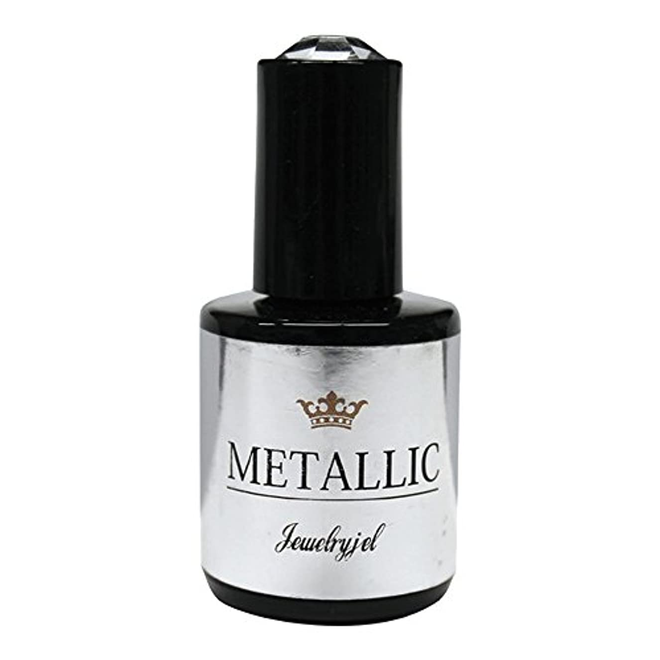 忘れる呼吸する悪質なジュエリージェル ジェルネイル メタリックカラージェル MT022 5ml   UV/LED対応 カラージェル ソークオフジェル