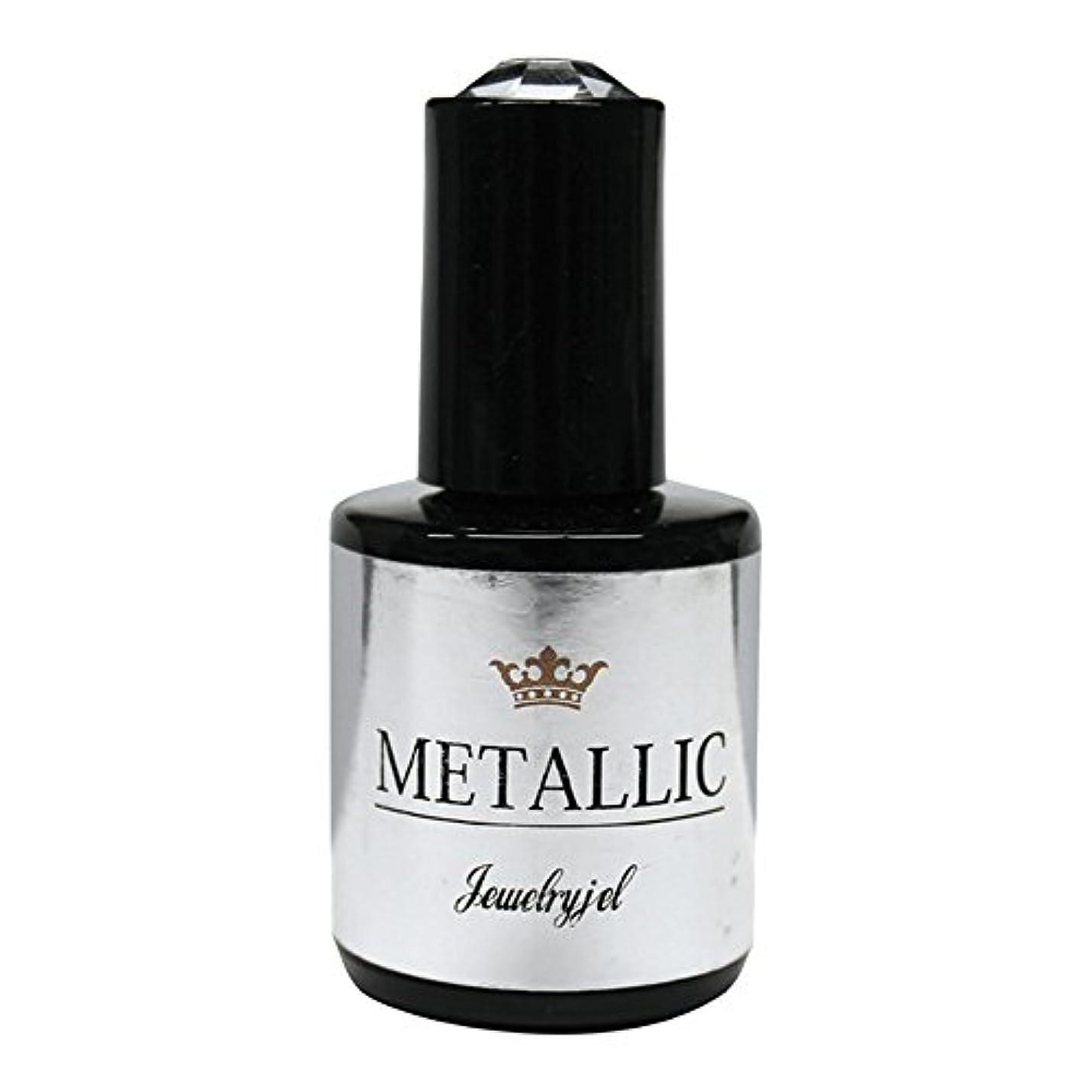 裏切り鉛筆余韻ジュエリージェル メタリックカラージェル MT020 5ml   UV/LED対応 カラージェル ソークオフジェル