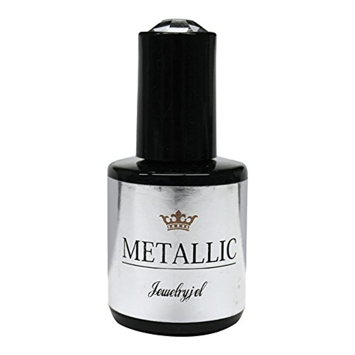 吐く鎖物質ジュエリージェル ジェルネイル  メタリックカラージェル MT038 5ml   UV/LED対応 カラージェル ソークオフジェル