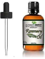 Rosemary Essential Oil Huge 100% Pure & Natural – Premium Therapeutic Grade-4oz Glass bottle