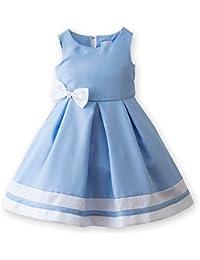 (キャサリンコテージ) Catherine Cottage子供服 CC0211 パールリボンのシンプルドレス 結婚式 発表会