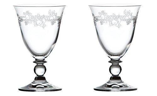 【正規輸入品】 ウェッジウッド フェスティビティ クリスタル ワイン ペア S0020331