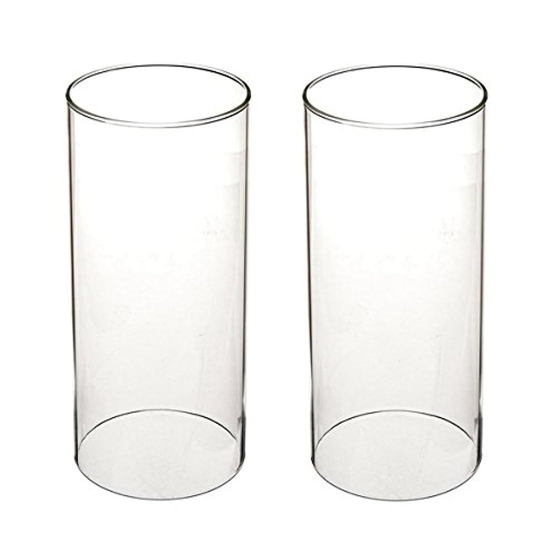 自発的マット彼自身ガラス煙突for Candleオープンエンド、ホウケイ酸ガラス( d3 h8