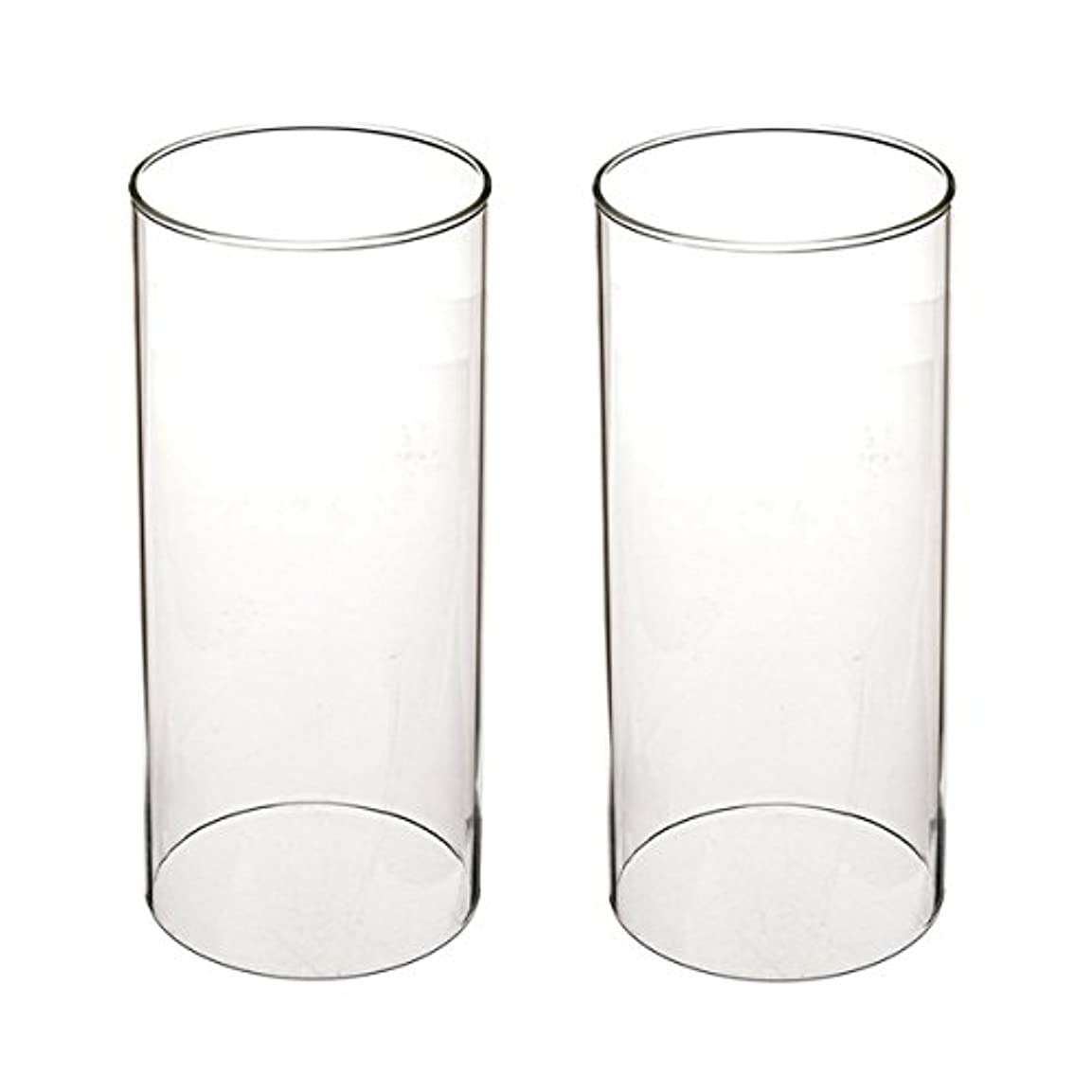 に向けて出発テクニカル間違いガラス煙突for Candleオープンエンド、ホウケイ酸ガラス( d3 h8