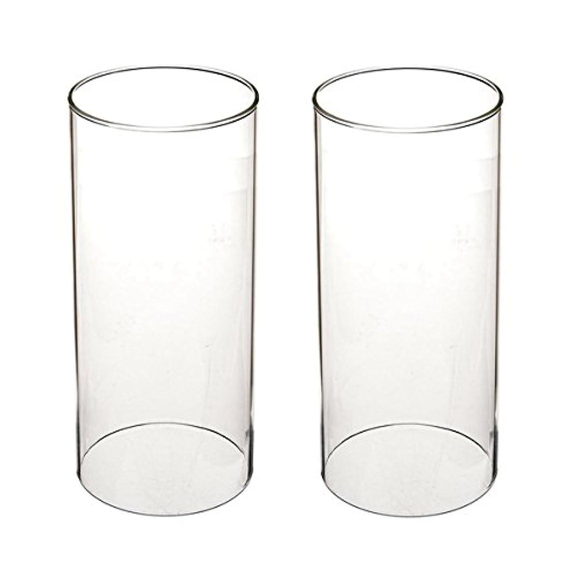 バリースポンジふくろうガラス煙突for Candleオープンエンド、ホウケイ酸ガラス( d3 h8