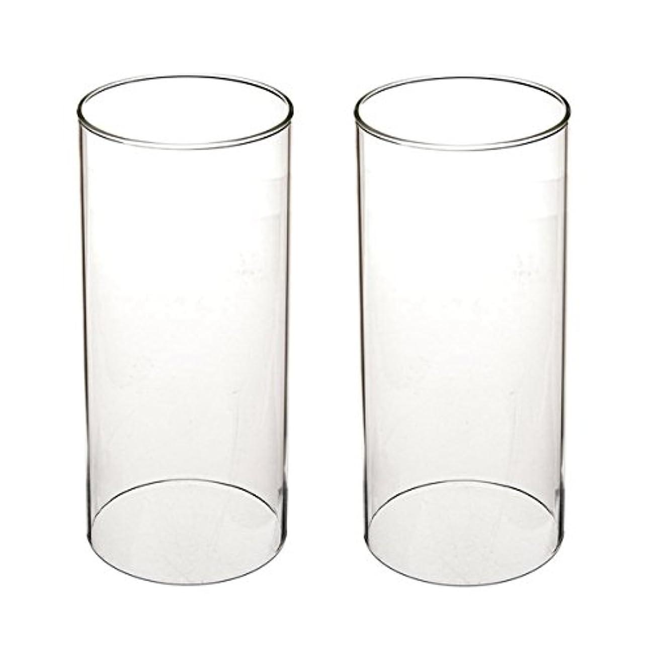 欲しいです秀でる障害者ガラス煙突for Candleオープンエンド、ホウケイ酸ガラス( d3 h8
