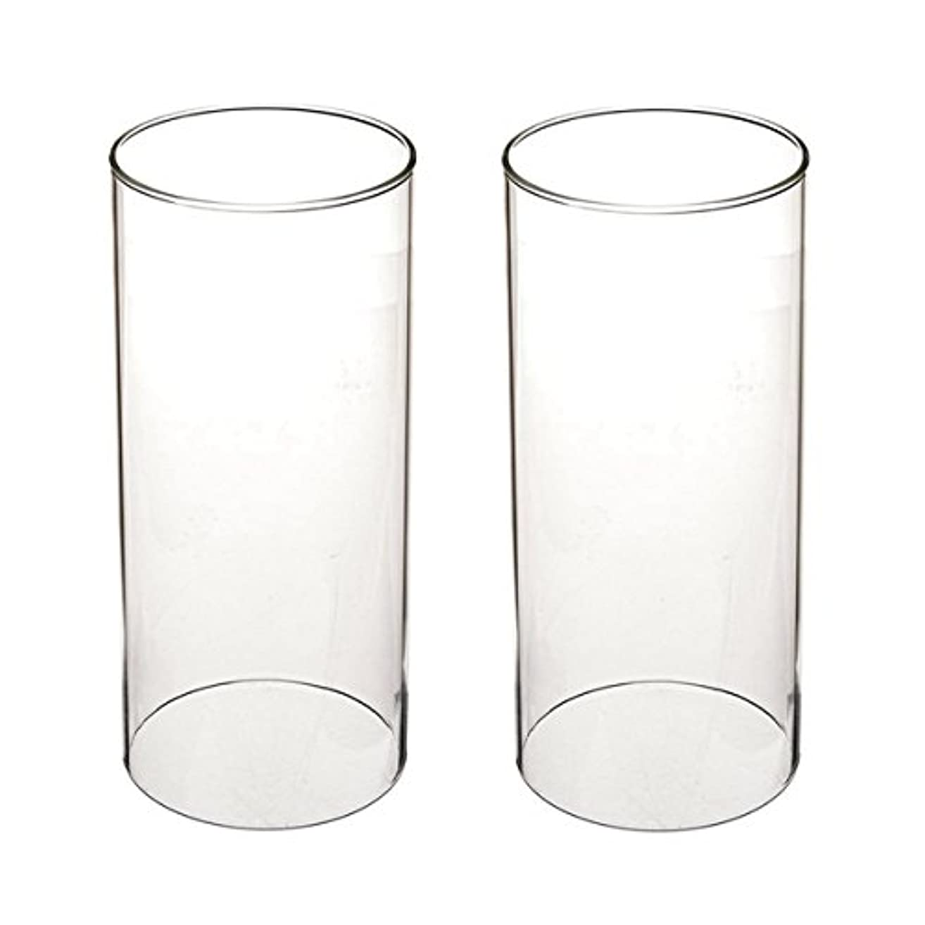 石油分類更新ガラス煙突for Candleオープンエンド、ホウケイ酸ガラス( d3 h8