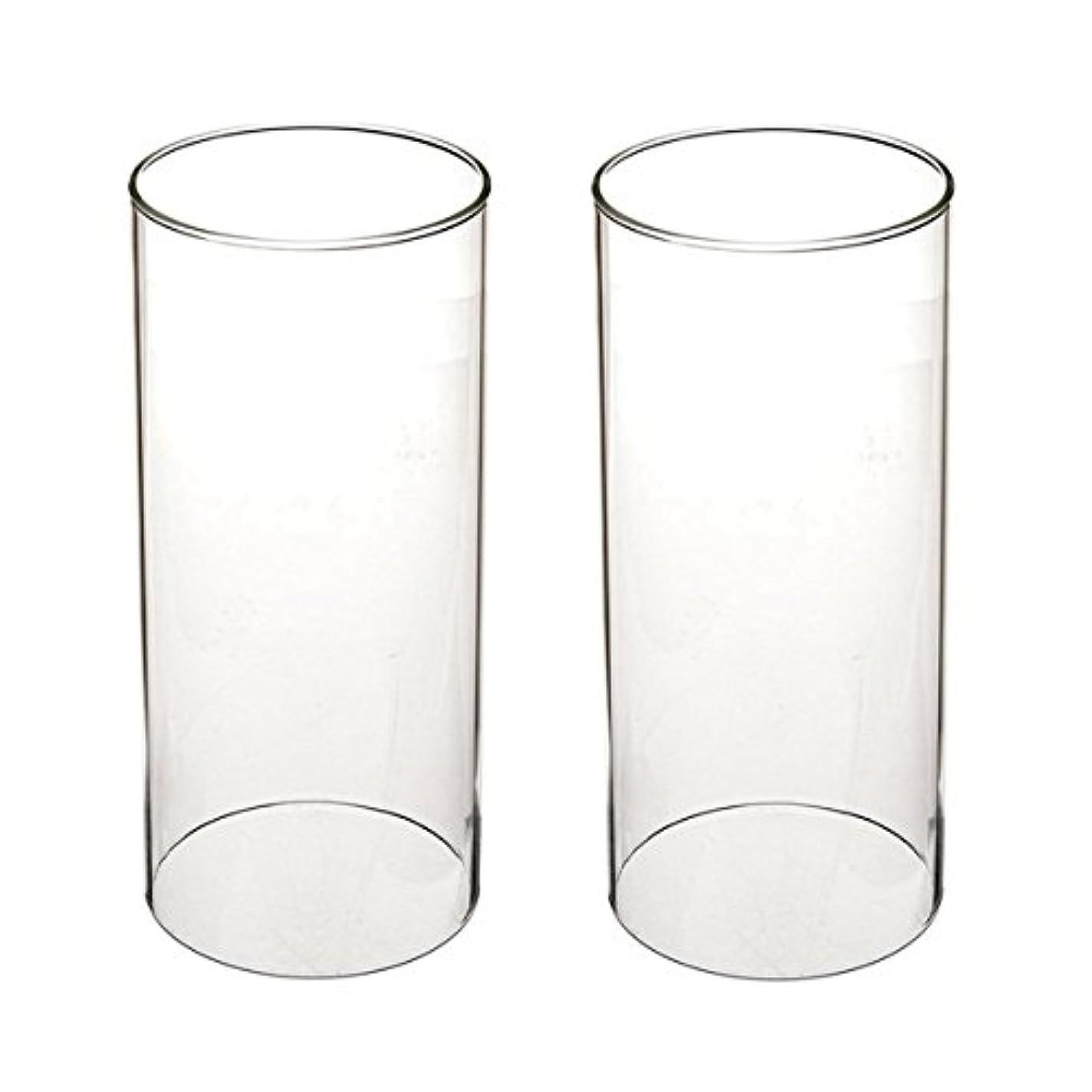 通訳不定遺跡ガラス煙突for Candleオープンエンド、ホウケイ酸ガラス( d3 h8