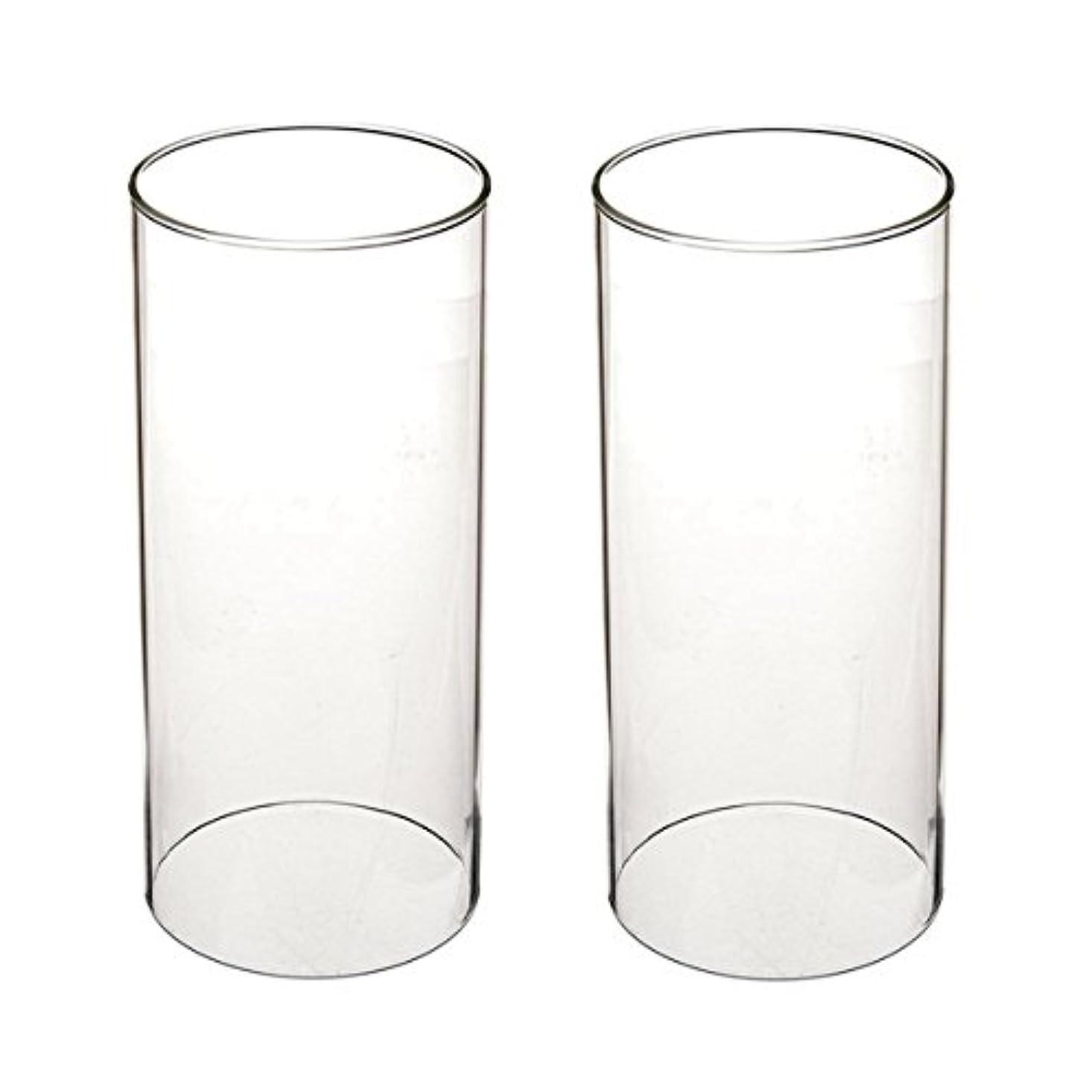 推論法廷屋内ガラス煙突for Candleオープンエンド、ホウケイ酸ガラス( d3 h8