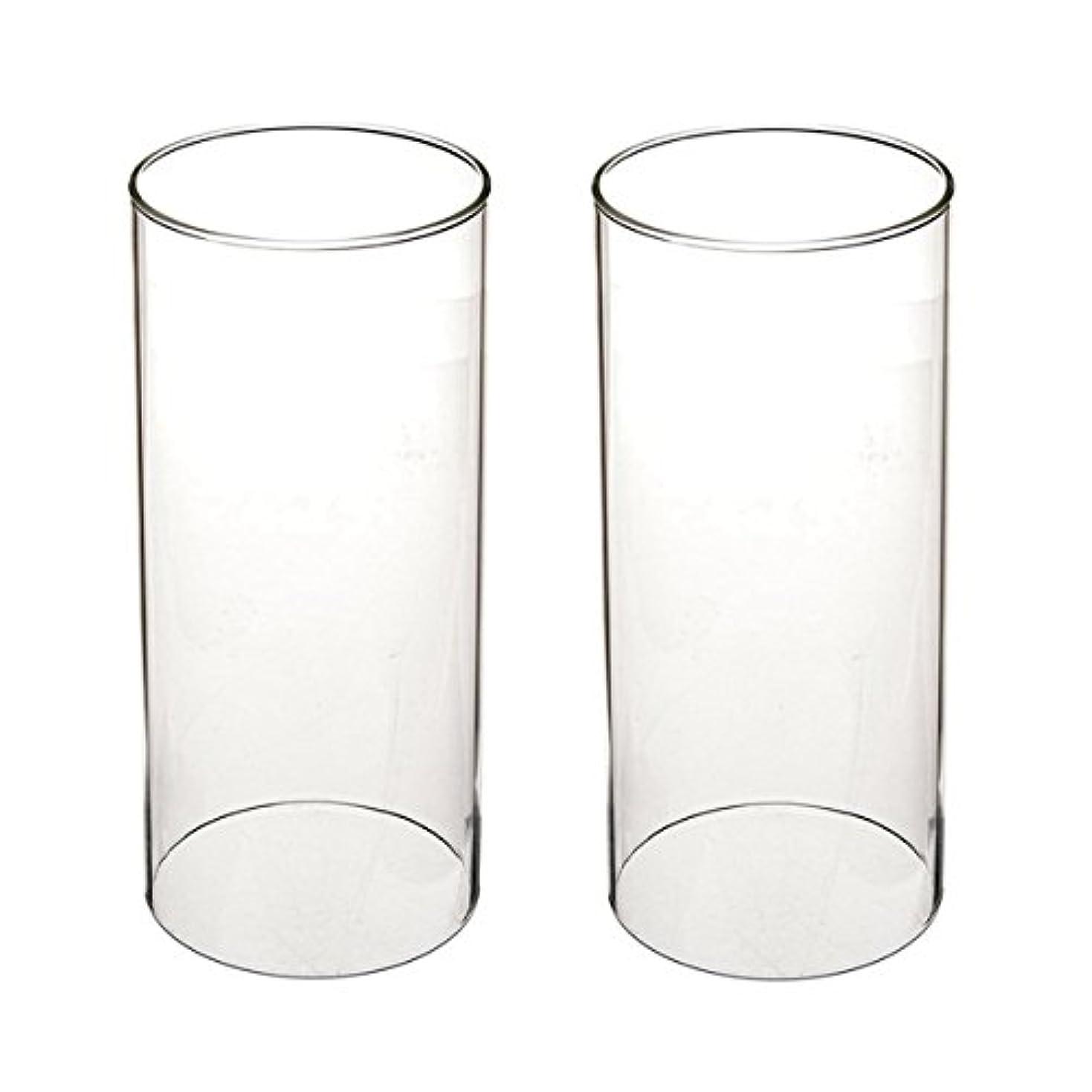 区別する涙が出る預言者ガラス煙突for Candleオープンエンド、ホウケイ酸ガラス( d3 h8
