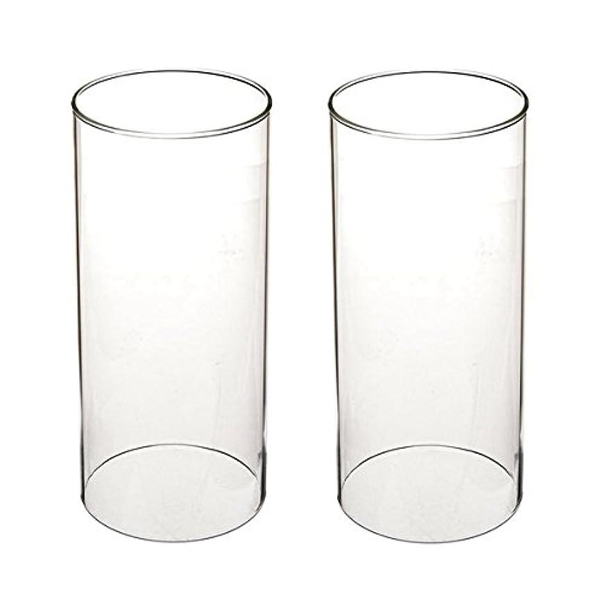 警察磁石物理学者ガラス煙突for Candleオープンエンド、ホウケイ酸ガラス( d3 h8