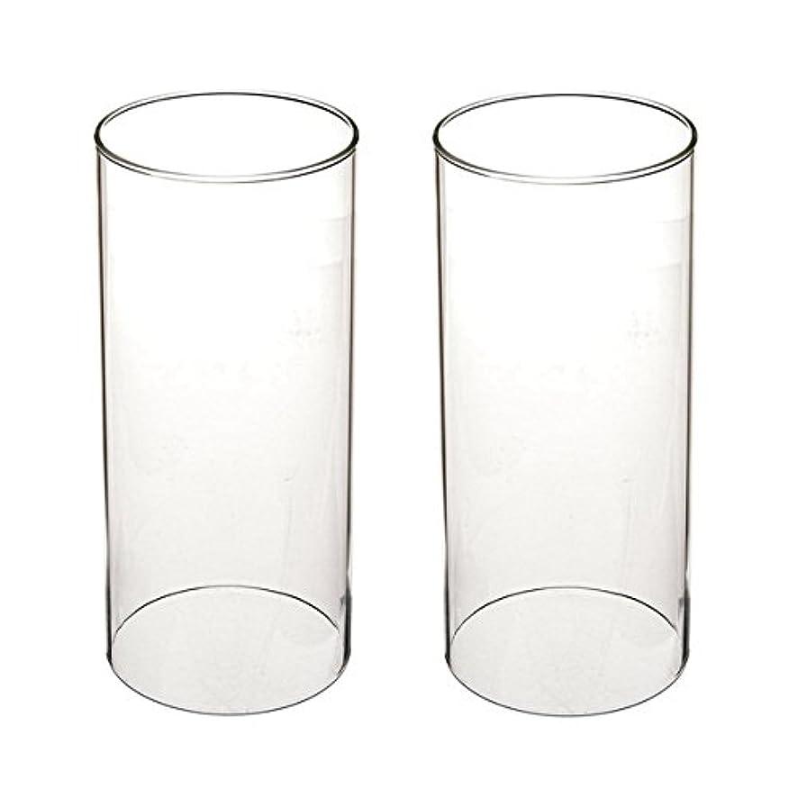 敵膨張する切るガラス煙突for Candleオープンエンド、ホウケイ酸ガラス( d3 h8