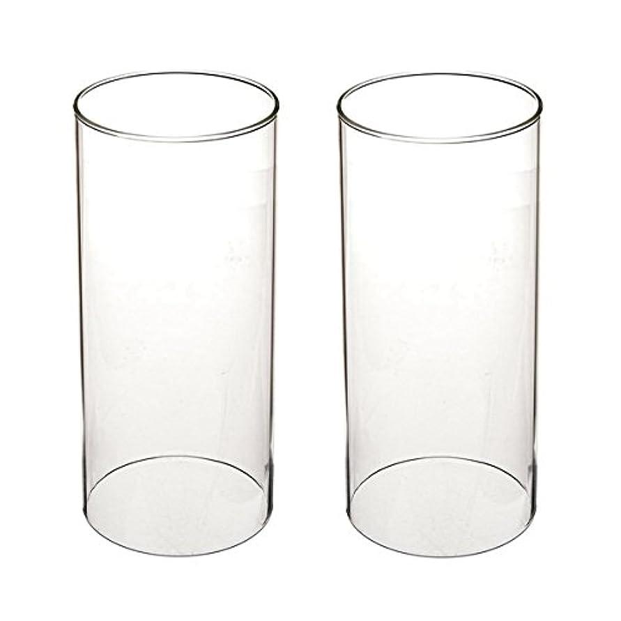 知性ギャロップに同意するガラス煙突for Candleオープンエンド、ホウケイ酸ガラス( d3 h8