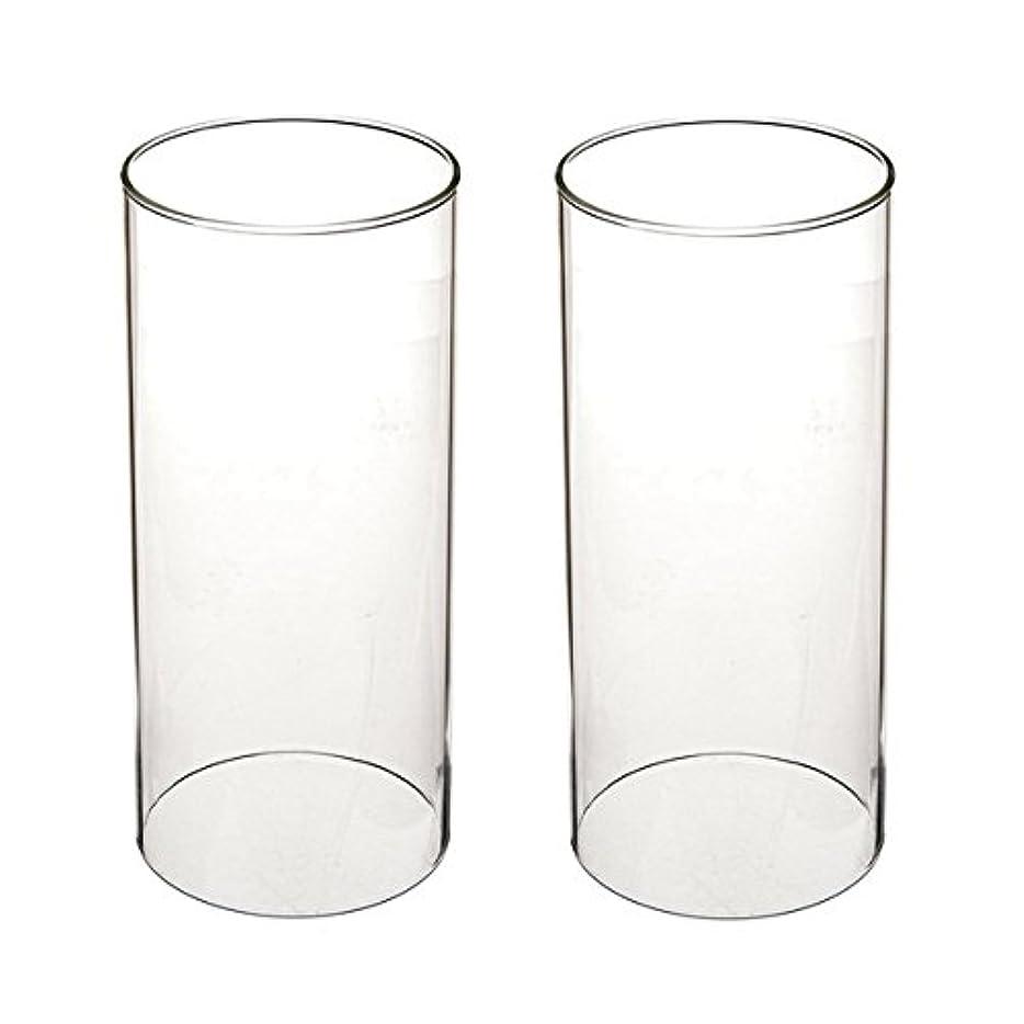 親愛な迅速掘るガラス煙突for Candleオープンエンド、ホウケイ酸ガラス( d3 h8