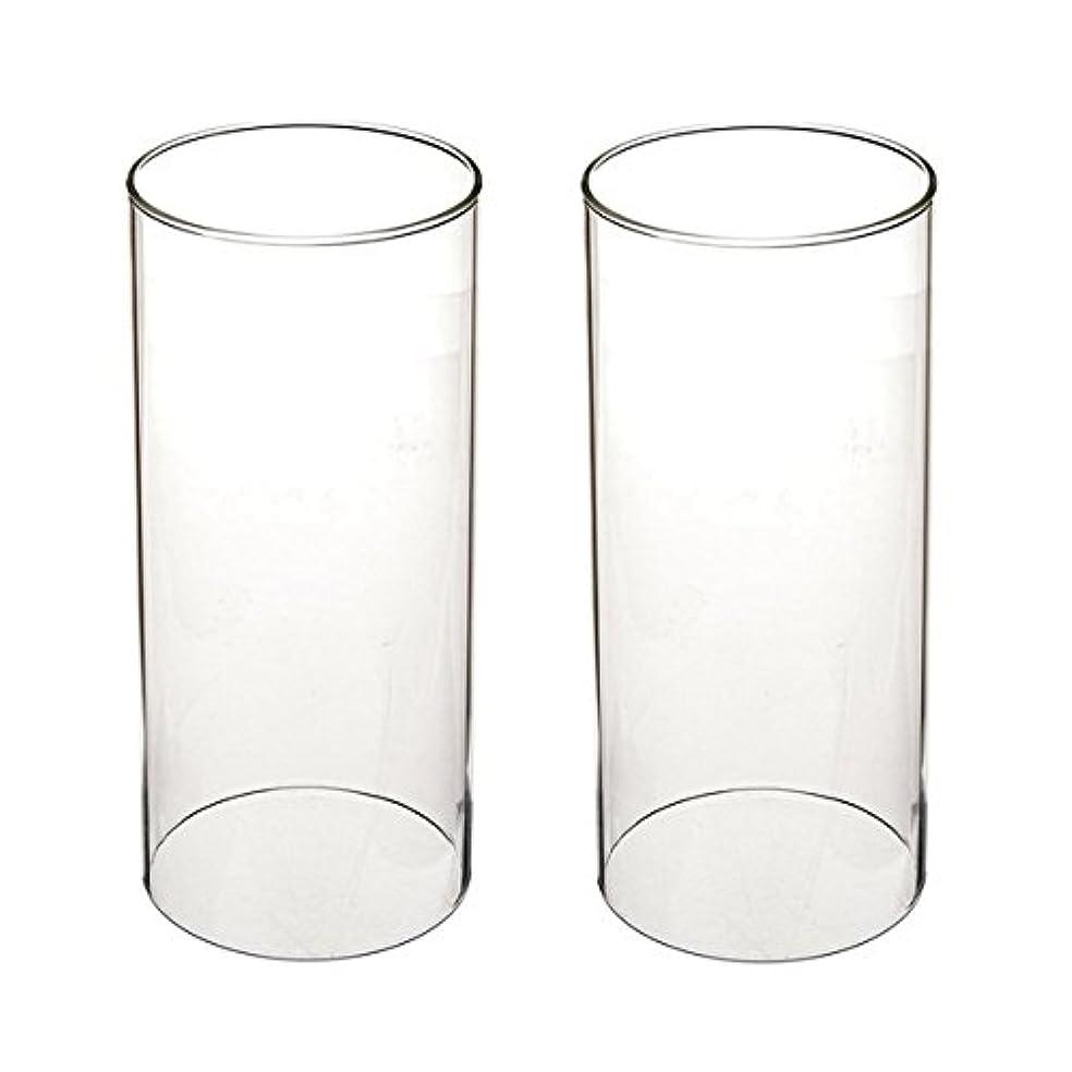 ペグ神秘的な純度ガラス煙突for Candleオープンエンド、ホウケイ酸ガラス( d3 h8