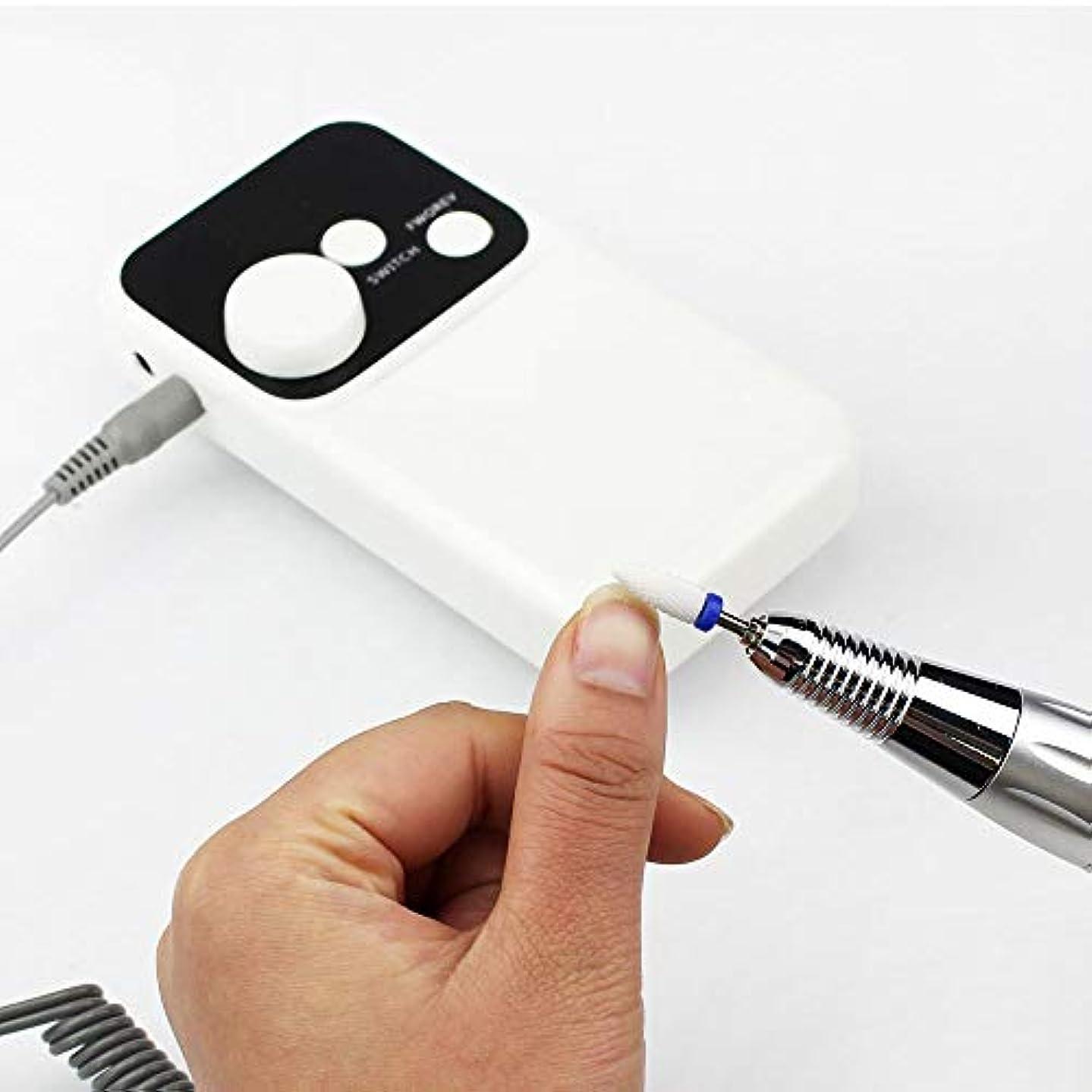 アクリルの釘のための専門の再充電可能な35000 Rpmの釘のドリルのポータブル、電気Efileの釘の粉砕機用具は反時計回りおよび時計回りの専門