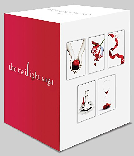 Twilight Saga 5 Book Set (Whit...