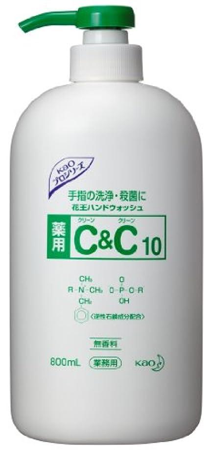 前に文芸豚肉花王プロシリーズ 薬用C&C10 800MLボトル