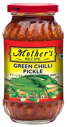 グリーンチリ ピクルス 300g Mother's Green Chilli Pickle ピックル