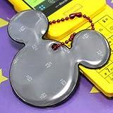 ディズニー リフレクターキーホルダー ミッキー(ミツマル) ブラック DSRS-5803
