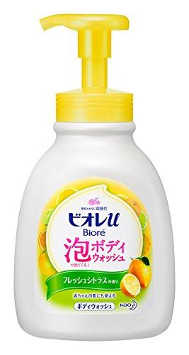 ビオレu 泡で出てくるボディウォッシュ シトラスの香り 本体600ml