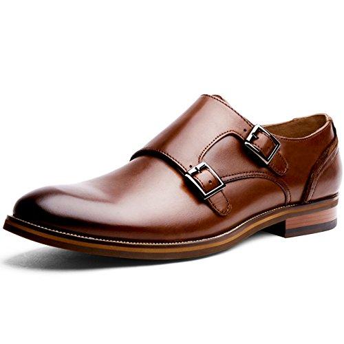 (フォクスセンス) Foxsense ビジネスシューズ 紳士靴 革靴 本革 メンズ モンクストラップ