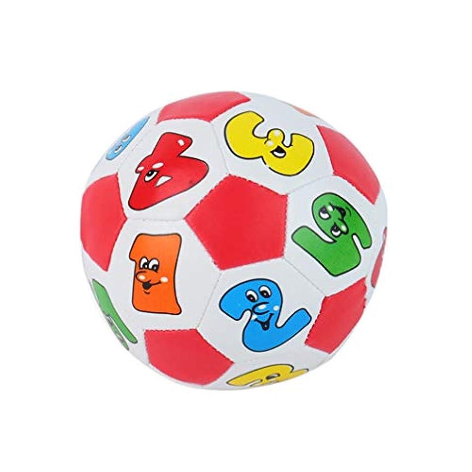 明示的にイソギンチャク貝殻NUOBESTY ベビープレイボールベビーソフトボール早期教育玩具子供用スポーツボールナンバーボール子供用ミニサッカーボール(ランダムカラー)