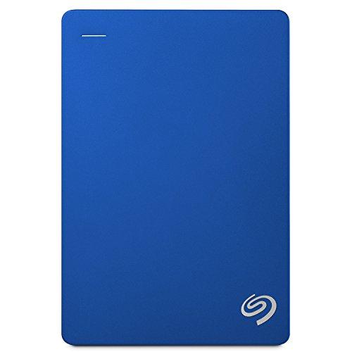 Seagate ポータブル HDD 4TB バックアップソフト付 3年保証 外付 2.5 ハードディスク PC Mac PS4 対応 USB3.0 正規代理店品安心サポート有 青